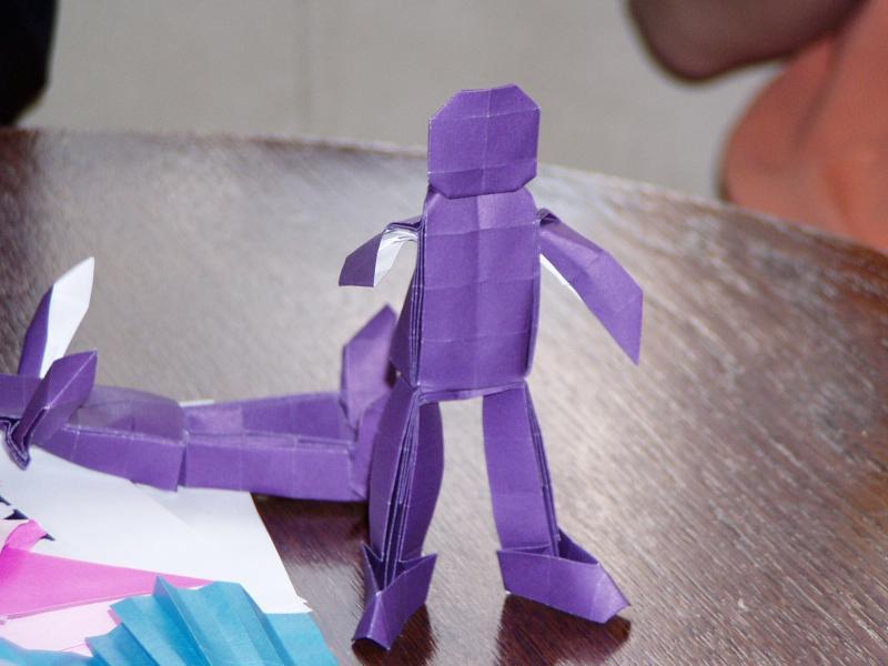 Origami panáček