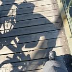 Hra stínů a nohou