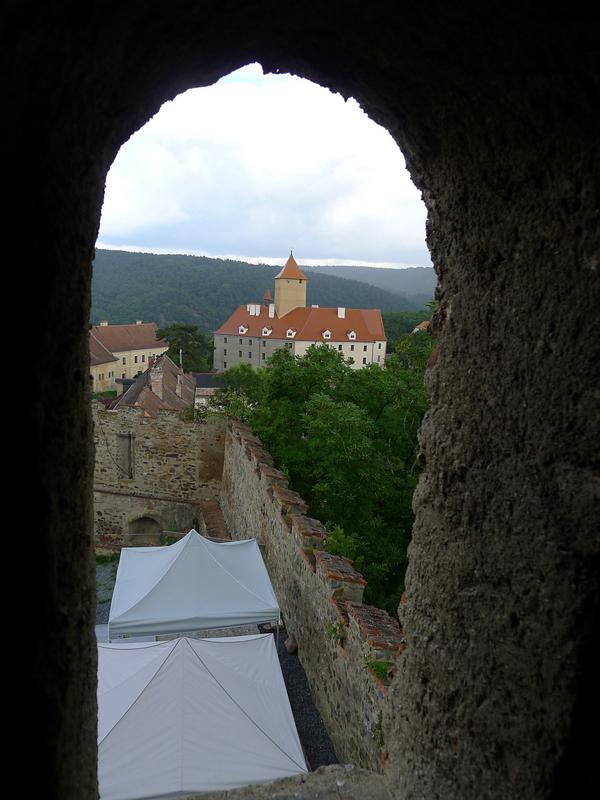 pohled z jedné z věží