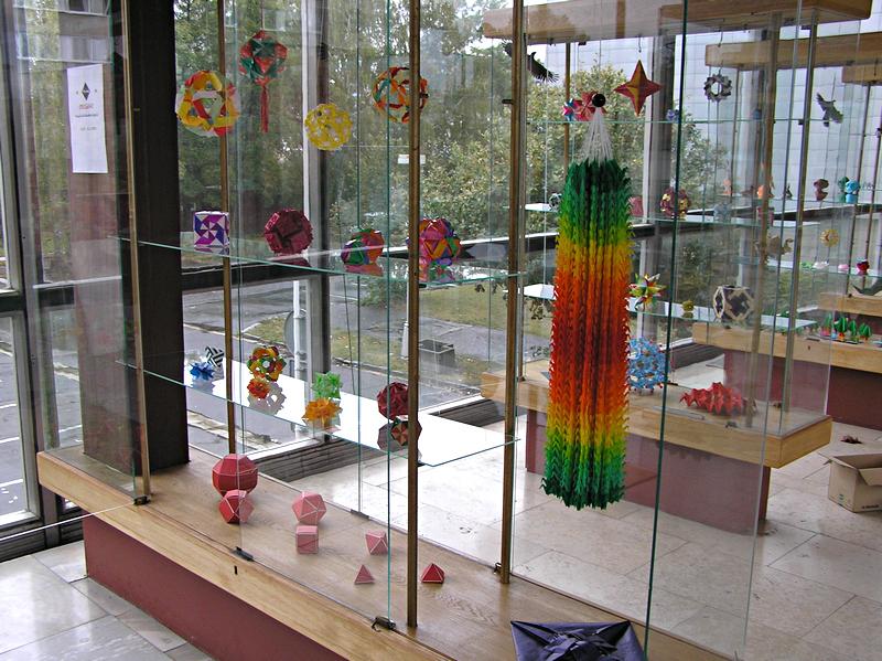 origami výstava, Hradec Králové