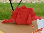 Ondřej Cibulka: stegosaurus