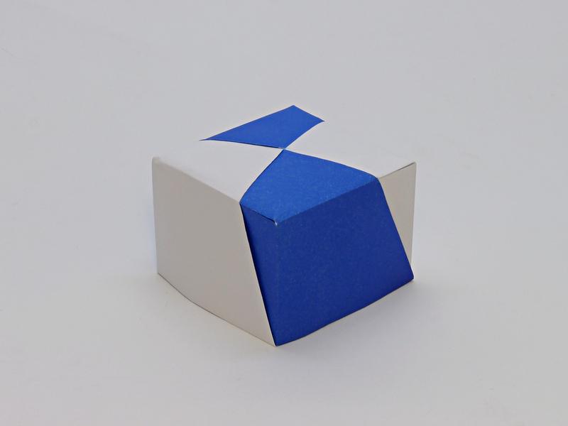Tošikazu Kawasaki: cube box elegant