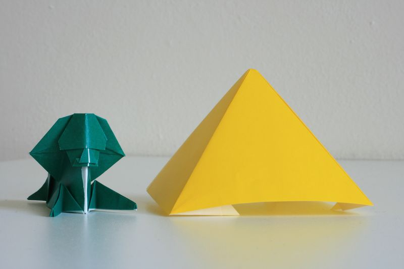 Sfinga s velkou pyramidou