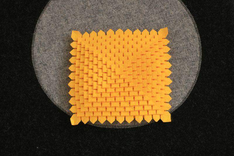 Fudžimoto: jedenáctiřadá mozaika (krajka)