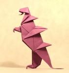 Godzilla z Viva origami