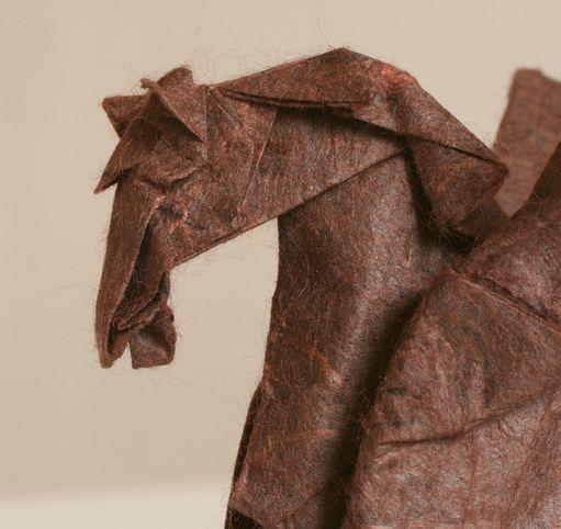 Hlava okřídleného koně