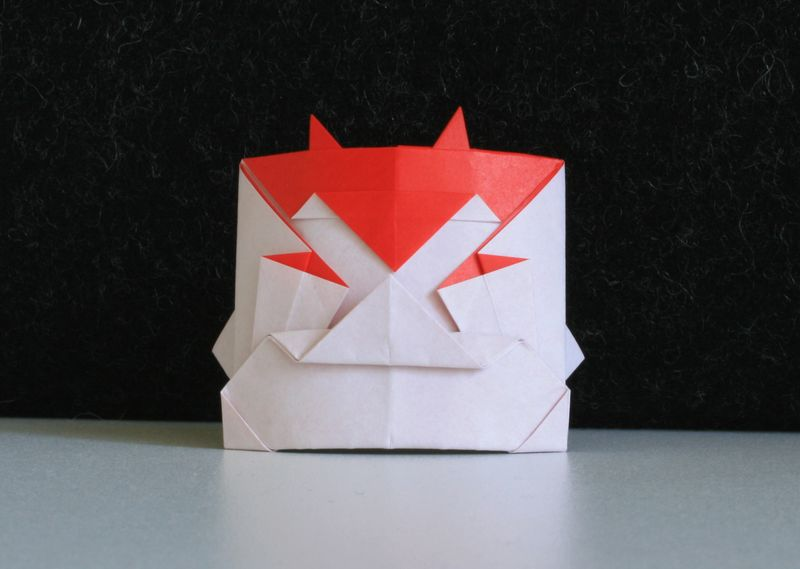 Maska japonského ďábla (Oni)
