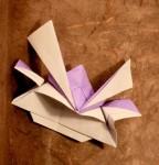 Samurajská přilba z Viva origami
