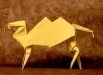 Velbloud z Viva origami