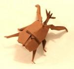 Nosorožík z Viva origami