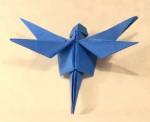 Vážka z Viva origami