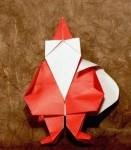 Vánoční skřítek z Viva origami