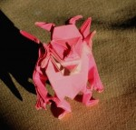 Ďáblík z Viva origami