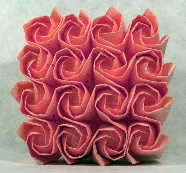 Šikmé růže (svatební kytice)