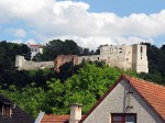 hrad nad městem