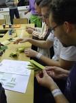 origami žába pod Františkovým vedením