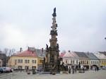 Město Polička - morový sloup