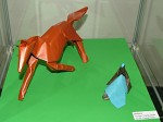 David Brill: kůň z trojúhelníku; Giang Dinh: postava