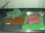 John Montroll: stegosaurus a dimetrodon