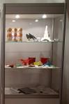 2012, mladí origamisté: expozice na výstavě v Berouně