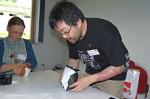 dílny: Joseph Wu - sova, skoro hotovo