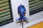 Joseph Wu: chobotnice s knihou na hlavě