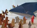 2012, Velrybolov: expozice na výstavě v Berouně