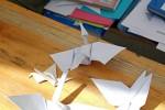 origami drak