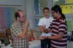 Robin Scholz, Petr Stuchlý a Miroslav Mrajca - Petr vysvětluje, jak složit omračující příšeru