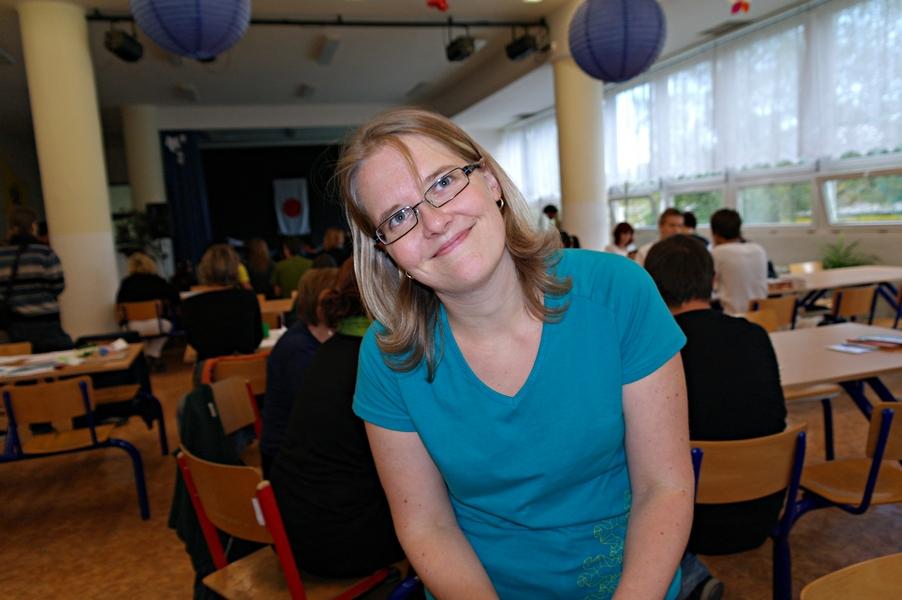 Kateřina Vávrů, předsedkyně České origami společnosti