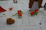 Přehlídka draků - Petr Stuchlý: drak, vlastní tvorba, Radim Cibulka: lebka tyranosaura od Fumiaki Kawahaty
