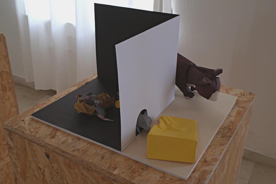 David Brill: kočka, myš a sýr, interpretace: Luděk Šindelář