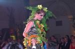 Floristická šou - florigami, model 1