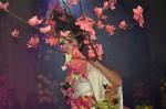 "Floristická šou - florigami, model ""sakura"""