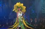 """Floristická šou - florigami, model """"květinový triptich, první květina"""""""
