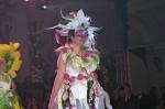 """Floristická šou - florigami, model """"květinový triptich, druhá květina"""""""