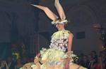 """Floristická šou - florigami, model """"zajíc"""""""