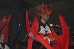 "Floristická šou - florigami, model ""drak"""