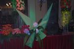 Originální velkoformátová origami výzdoba