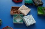 Tomoko Fuse: krabičky (čtvercové)