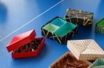 Tomoko Fuse: krabičky (červená, černá)