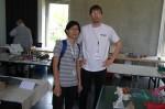 Ondřej Cibulka a Quyet Hoang