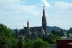 Kostel ve Vítkově - celkový pohled