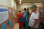 Návštěvníci na výstavě