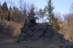 Budišovská sopka - vyvřelina