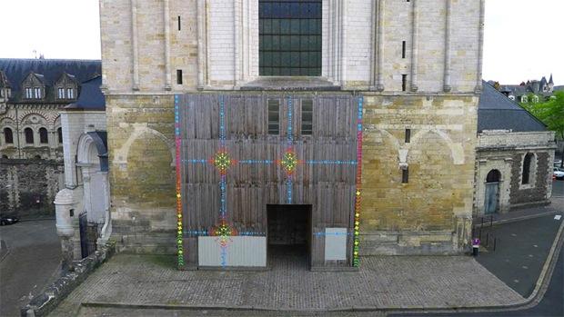 ARTAQ 2013 - instalace na katedrále