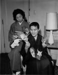 Toyoaki Kawai s manželkou