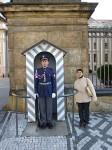 Mijuki u hradní stráže