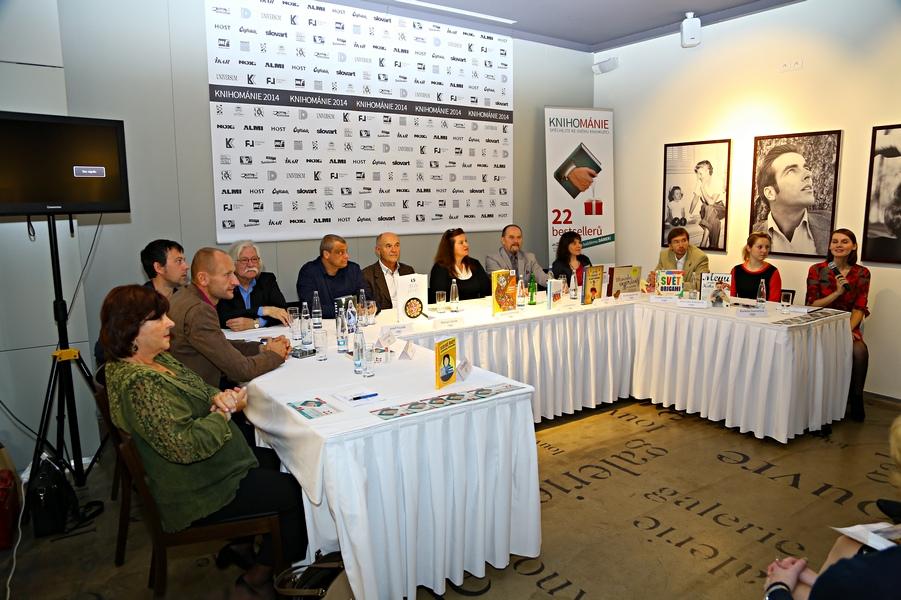 Knihománie 2014, tisková konference