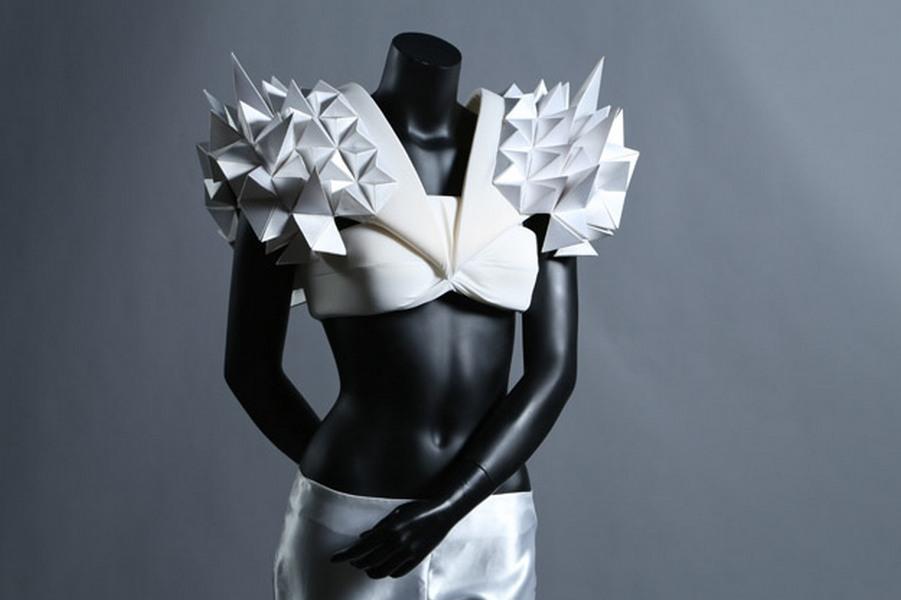 Butterfly, model na výstavě